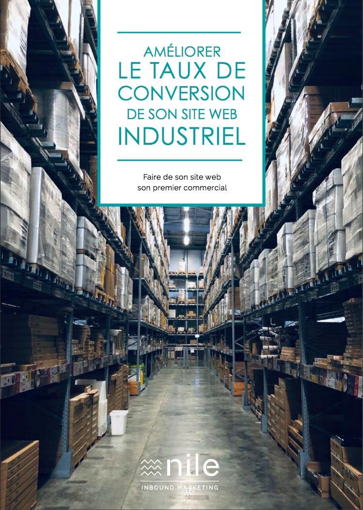 Guide : Améliorer le taux de conversion de son site web industriel