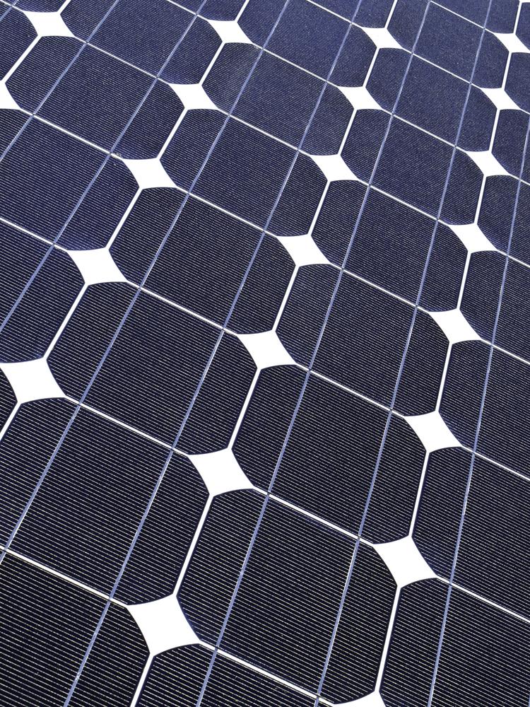 Symmetry of solar panel