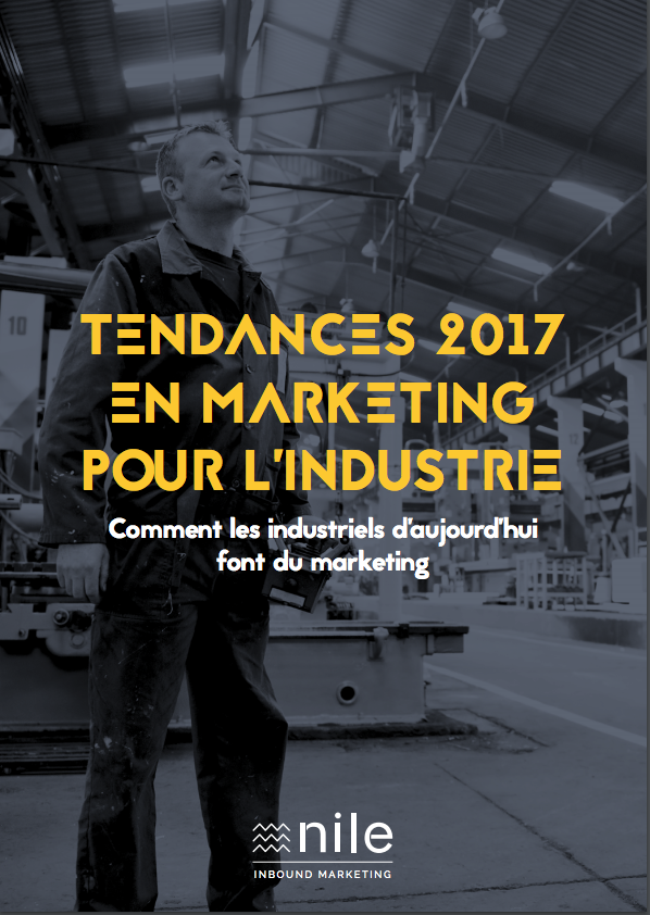 Etude tendances 2017 marketing pour l'industrie